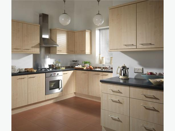 7 Piece Kitchen Units - Maple Deluxe - BRAND NEW