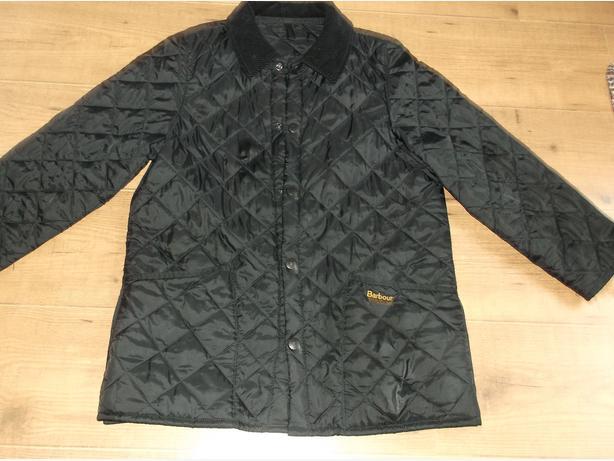 Childs Barbour  coat
