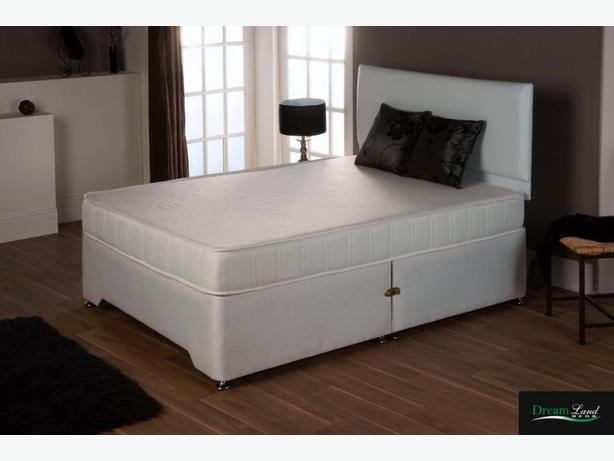 "11"" THICKORTHOPAEDIC DOUBLE DIVAN * BRAND-NEW BED"
