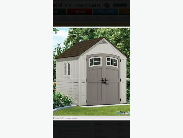 WANTED: GARDEN SHED PLASTIC OR METAL