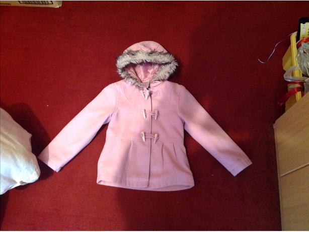 Girls pretty winter coat