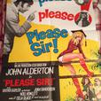 Please Sir Movie Poster and Lobby Cards