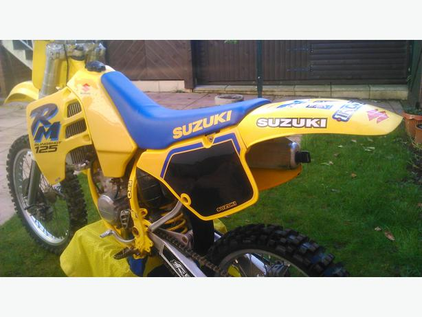  Log In needed £995 · SUZUKI RM 125 SUPER EVO 1991,,,,,,,MAY SWAP 65 OR 85  MX BIKE