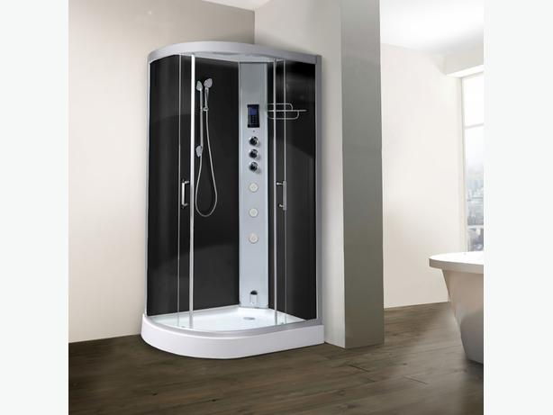 You can't miss this steam shower from JT Spas!