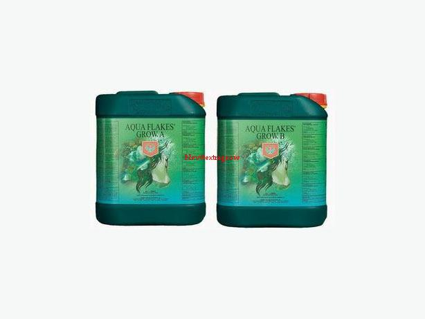 House & Garden:  Aqua Flakes A+B  Grow  (2) + 5L