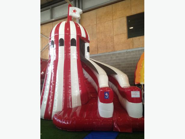 Inflatable Helter Skelter Bouncy Castle