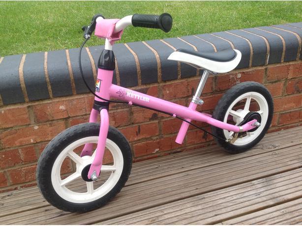 Kettler Balance Bike - Pink - Age 3-6 approx