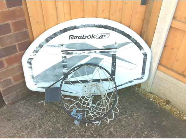 Reebok basket ball hoop