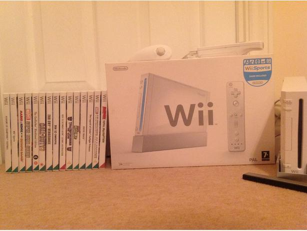 Wii With 15 games