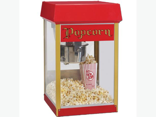 Popcorn & Candy Floss Machine