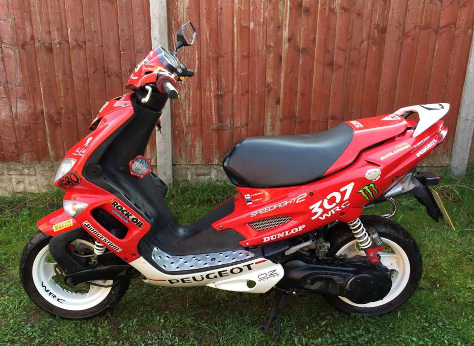 2005 peugeot speedfight 2 50cc moped scooter motorbike tipton dudley. Black Bedroom Furniture Sets. Home Design Ideas