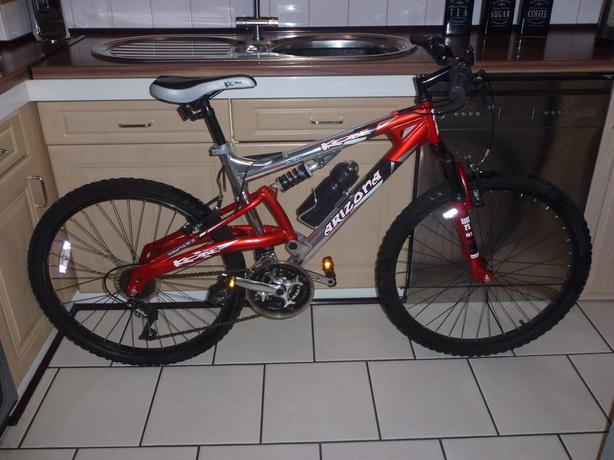 Kobe Arizona Full Suspension Mountain Bike Been Ridden Twice