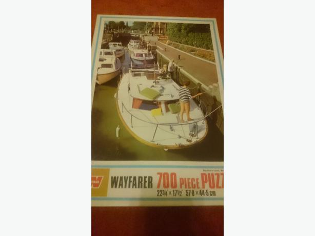 700 piece boat at the docks jigsaw puzzle