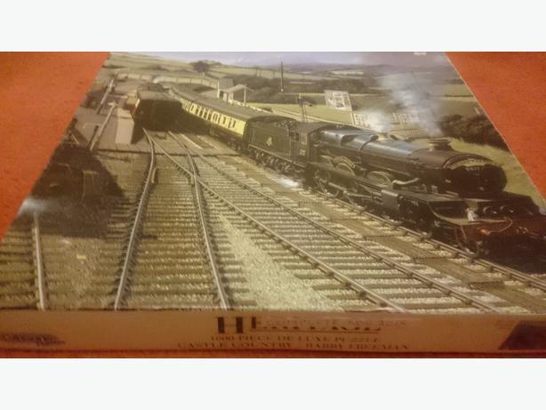 1000 piece train puzzle £1.50