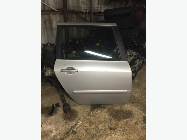 Peugeot 307 Hdi 2.0 Sw Estate Driver Back Door Complete Door SILVER EZRC