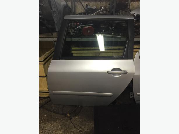 Peugeot 307 Hdi 2.0 Sw Estate Passenger Back Door Complete Door SILVER EZRC