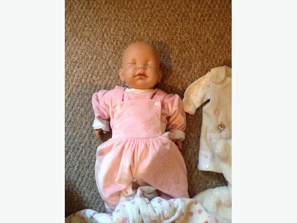 Real life hand made baby doll