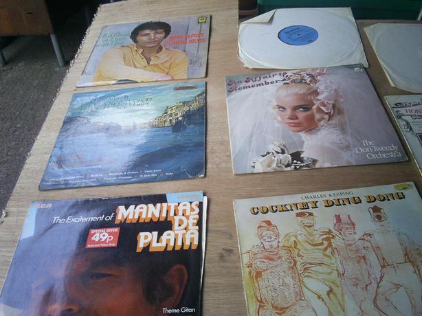 £50 · old vynll LPs