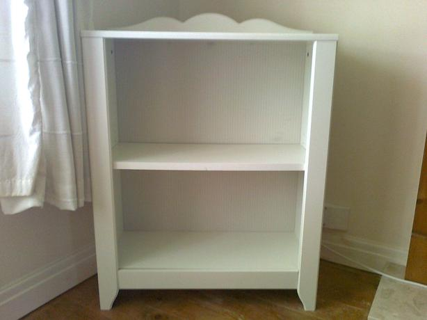 Ikea hensvik wooden white bookcase for sale other leeds for Ikea wooden bookshelf