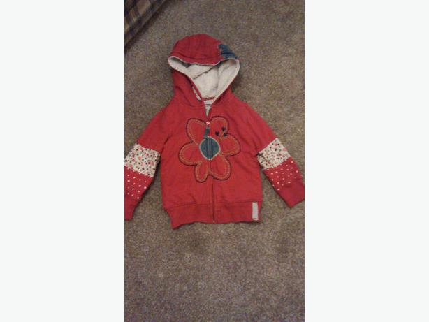 GIRLS RED JACKET (NEXT)