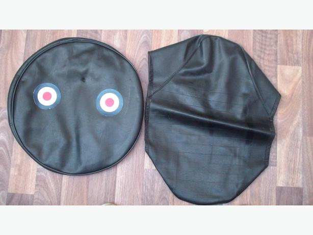 LAMBRETTA SPARE WHEEL AND SEAT COVER