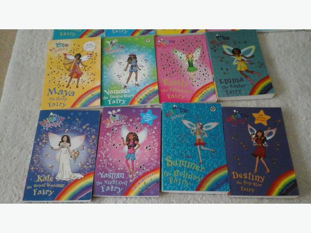 Rainbow magic books 4 for £1