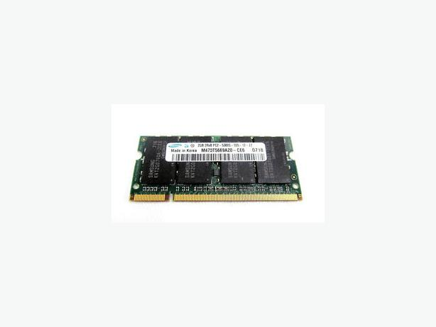 X2 SAMSUNG 2GB DDR2 LAPTOP RAM