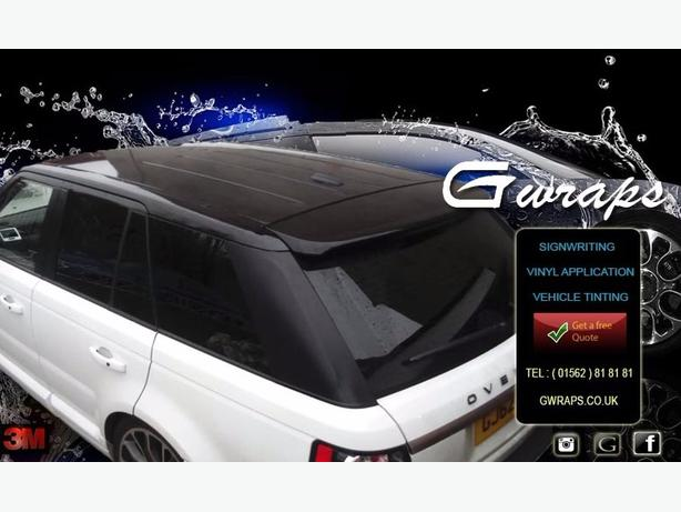 gwraps vinyl wrapping and signwriting services
