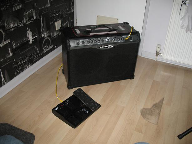 Line 6 Spider II Amplifier c/w foot switch Stourbridge, Dudley