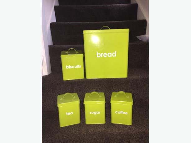 Lime Green Kitchen Accessories ***SOLD***