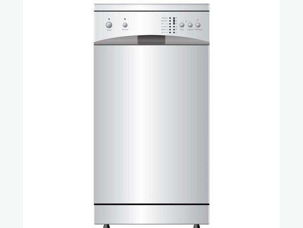 New curry's ess 45 cm slimline white dishwasher.