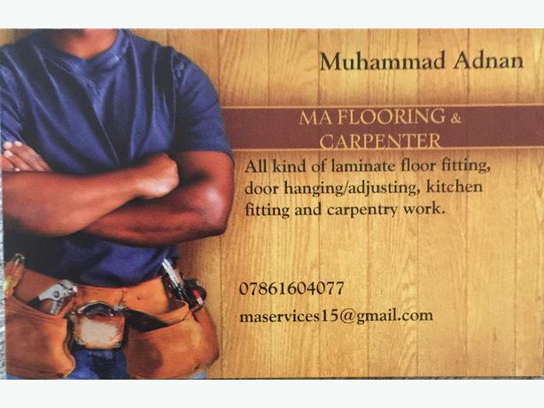 Laminate floor fitter/carpenter