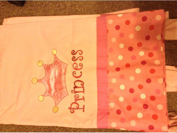 NEXT Pink Princess Curtains