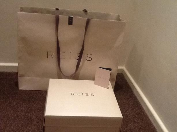 REISS ankle boots, brand new, size 6.