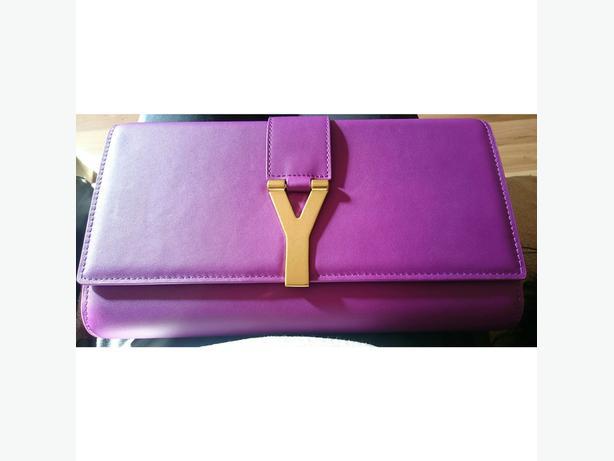 Yves Saint Laurent Purple Clutch Bag WALSALL, Dudley