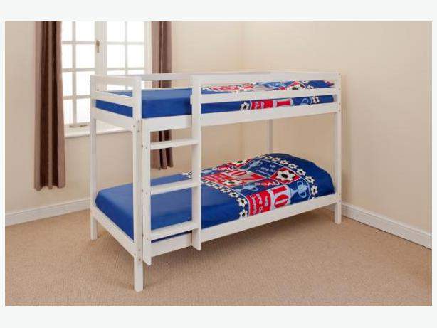 BUNK BED BRAND NEW WITH 2 MATTRESSES