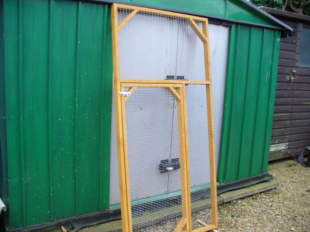 aviary panels/ cat/ bird/ chicken/ rabbit/ budgie/ dog run