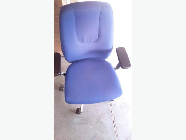 Blue Office/Desk Roll Chair