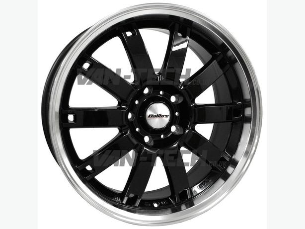For Sale: Calibre Boulevard 18″ Black Alloy Wheels T5 Transporter Van