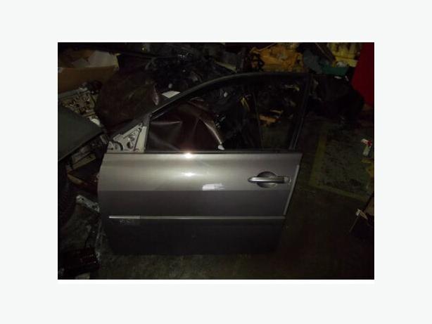 RENAULT MEGANE DOOR GREY NV603 5DOOR PASSENGER DOOR N/S 02-08 MKII