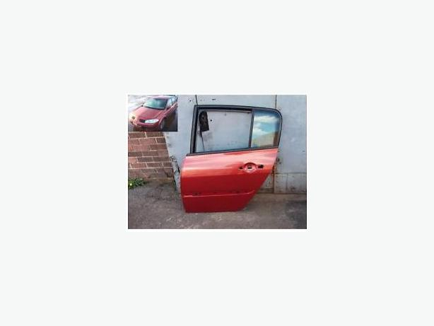 RENAULT MEGANE II DOOR Red teb76 5 door PASSENGER REAR BACK DOOR N/S/R 02-08