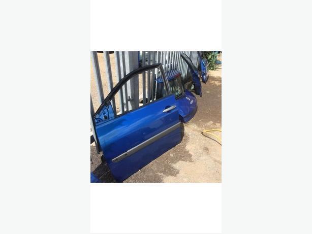 RENAULT MEGANE II DOOR BLUE TEi45 5DOOR DRIVER DOOR O/S 02-08