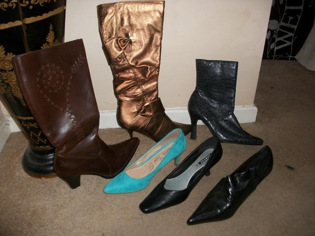 Selection of Shoes/Boots size 7