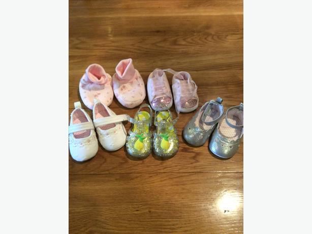 Baby girls shoe bundle