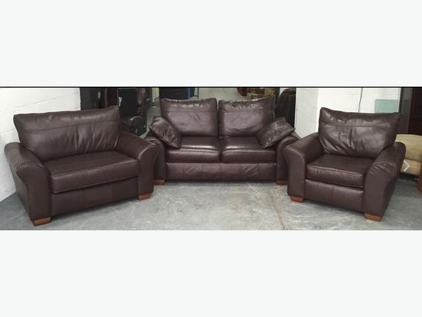 Swell Log In Needed 369 Next Brown Leather 3Pc Cuddle Chair Sofa Set We Deliver Uk Wide Forskolin Free Trial Chair Design Images Forskolin Free Trialorg