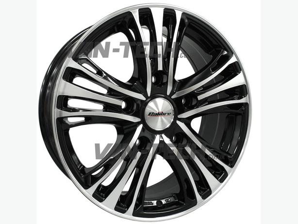 For Sale: Calibre Odyssey Black / polished 18″ Alloy Wheels For VW T5 Van