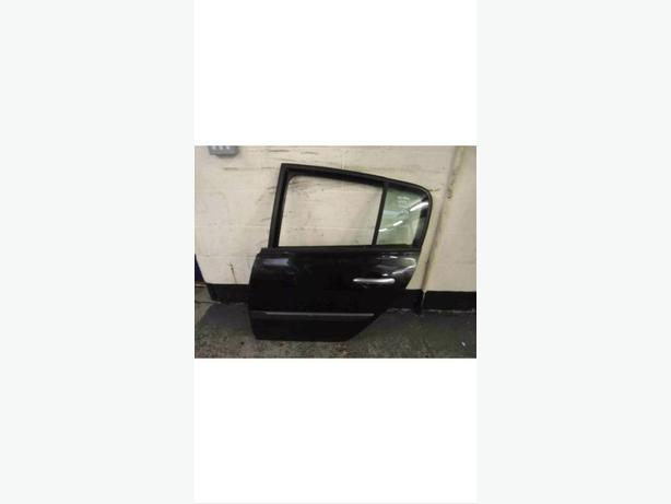 RENAULT MEGANE DOOR BLACK 5DOOR PASSENGER REAR BACK DOOR N/S/R 02-08