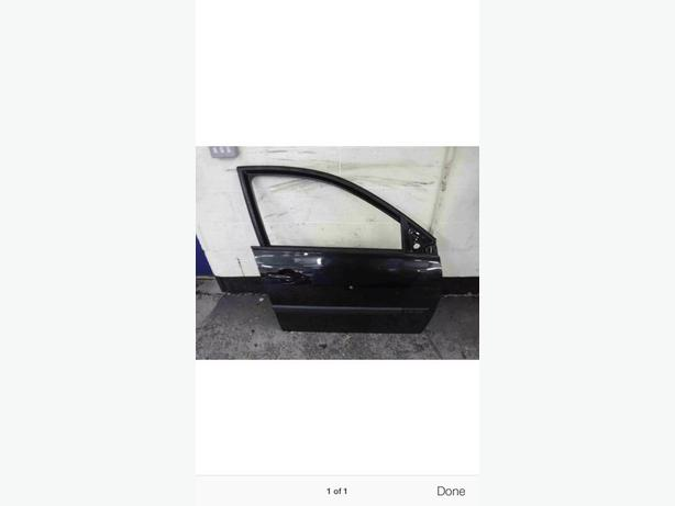 RENAULT MEGANE II DOOR BLACK 5DOOR DRIVER DOOR O/S 02-08