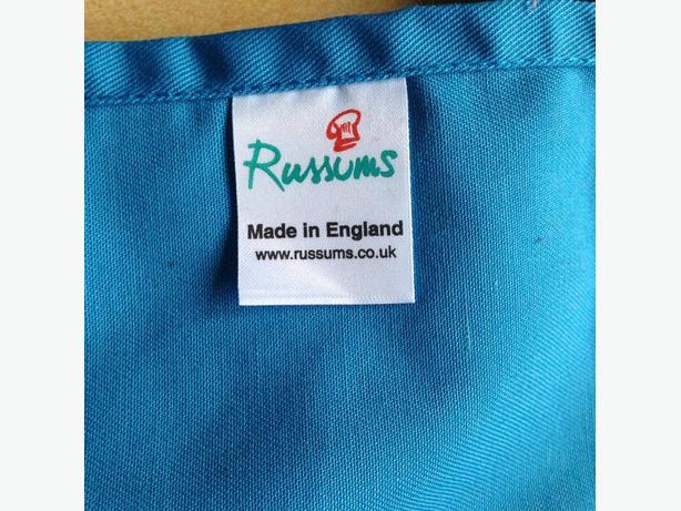 Russums chef blue waist apron