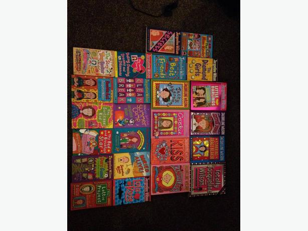 Collection of 24 Jacqueline Wilson books worth £191 £50 ONO